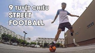 Tập luyện 9 kỹ năng bóng đá đường phố cực hay của Edward Van Gils