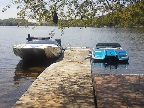 Summer Boat Fun Lake of Bays Ontario