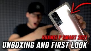 Huawei P Smart 2021 Unboxing and First Look!
