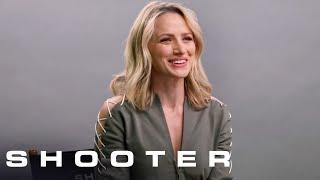 Shooter Q&A: Ryan Philippe, Shantel VanSanten, Omar Epps, Cynthia Addai-Robinson | Shooter on USA