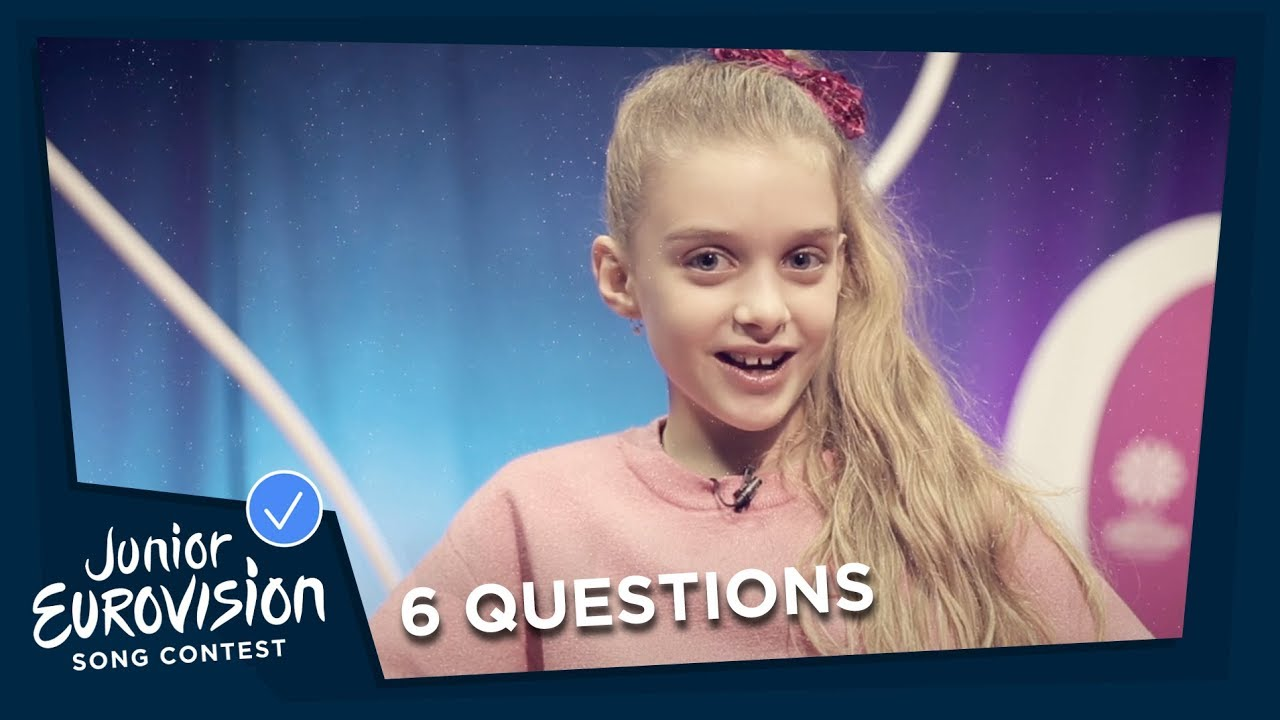 Six Questions Part 5 Dream Job Besides Music Junior Eurovision 2018 Youtube