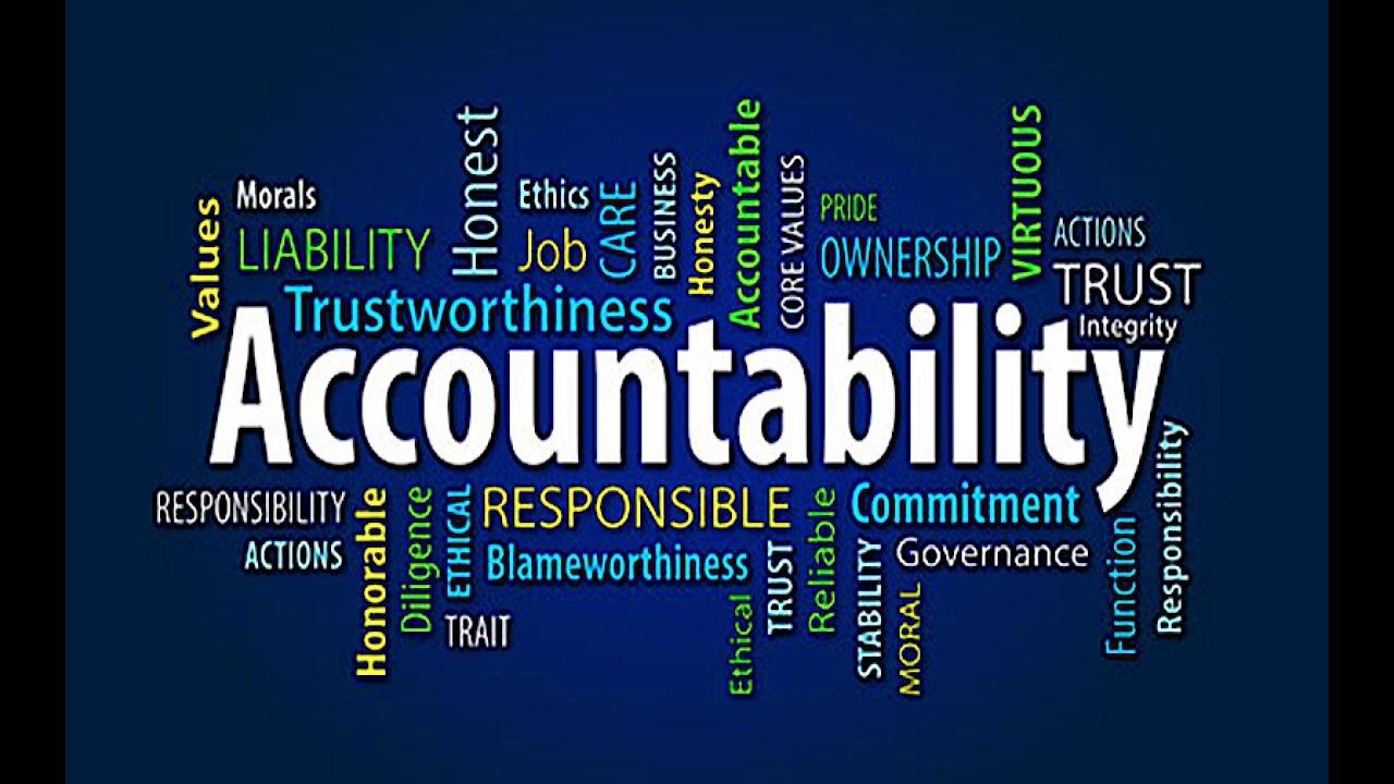 accountability youtube