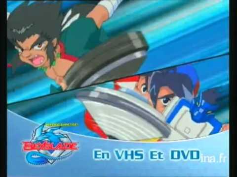 (FR) Publicité Beyblade DVD/VHS(Version TF1)