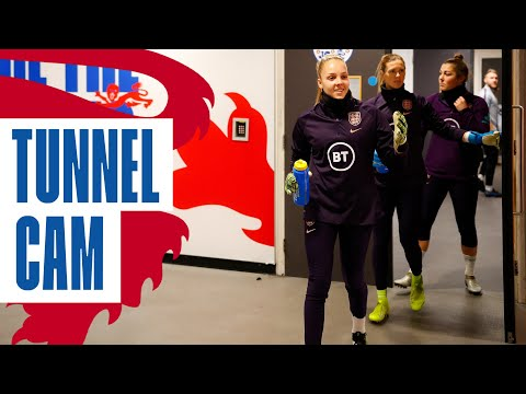 Inside Wembley with the Lionesses Record Crowd against Germany | Tunnel Cam | England 1-2 Germany