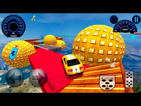 Mega Ramp Car Stunts Impossible - Best Android Games For Airplane Mode - Android Gameplay