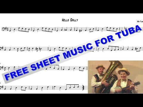 Free Sheet Music For Tuba - Hello Dolly