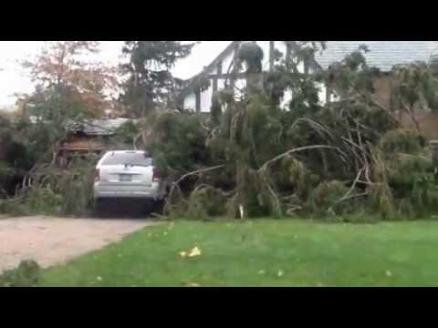 Super-Storm Sandy in Manhasset, NY