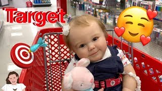 Reborn Baby Outing to Target! Amazing Reactions to Charlie! | Kelli Maple