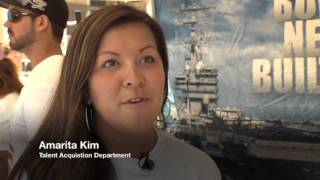 The Newport News Shipbuilding video for the Darden Awards
