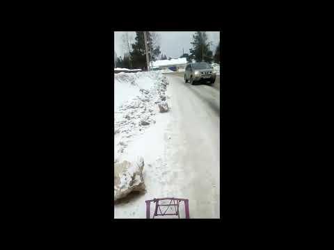 Ул. Заводская г. Никольск (видео прислано для Говорит Никольск)