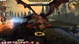 dragon age origins flemeth battle pc hd