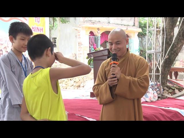 Khóa tu mùa hè chùa Thiên Hương 2018 trò chơi trong khóa tu
