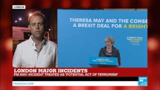 London Attacks  Reports say all attackers emerge from the same van