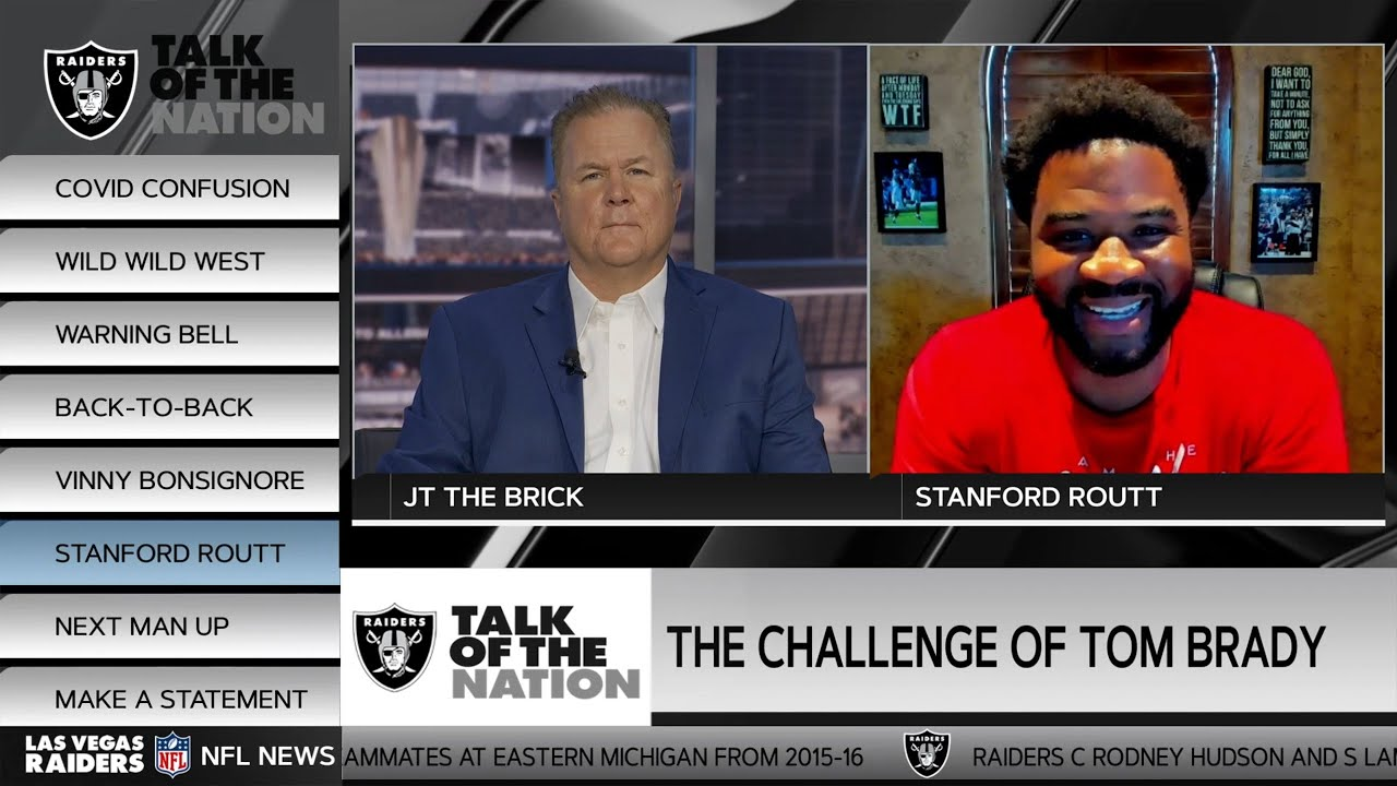 Navigating the Challenge of COVID & Stanford Routt Details Trayvon Mullen, Bucs | Las Vegas Raiders