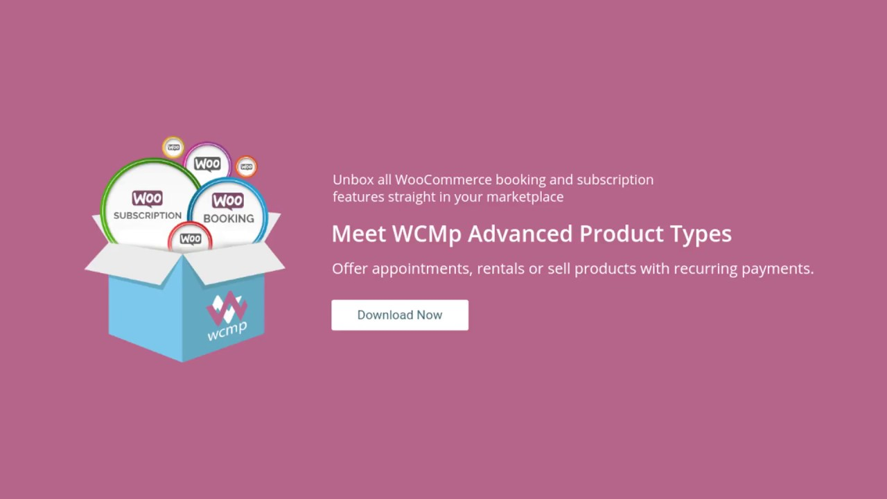 WC-Marketplace: WCMp Advanced Product Types ( Subscribable Products )