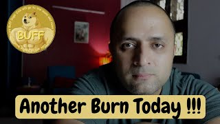 Buff Doge Coin another burn event happening today | Cryptocurrency