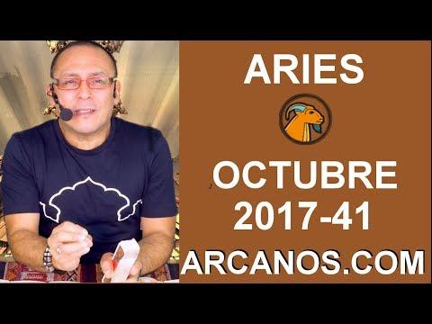 ARIES OCTUBRE 2017-8 al 14 de Oct 2017-Amor Solteros Parejas Dinero Trabajo-ARCANOS.COM de YouTube · Duración:  3 minutos 56 segundos