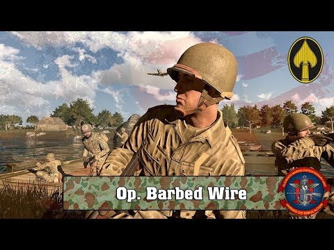 ARMA 3 | Op. Barbed Wire [WW2] | 11ThMEU (SOC)