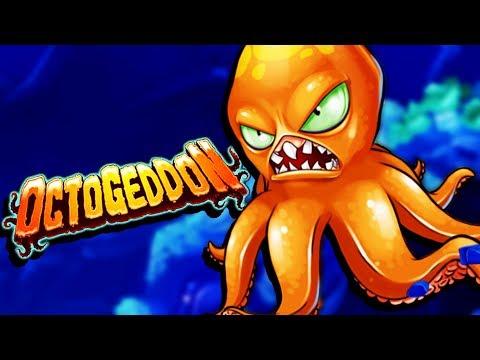 RAMPAGING OCTOPUS ATTACKS SYDNEY! - Octogeddon Gameplay - Game like Tasty Blue