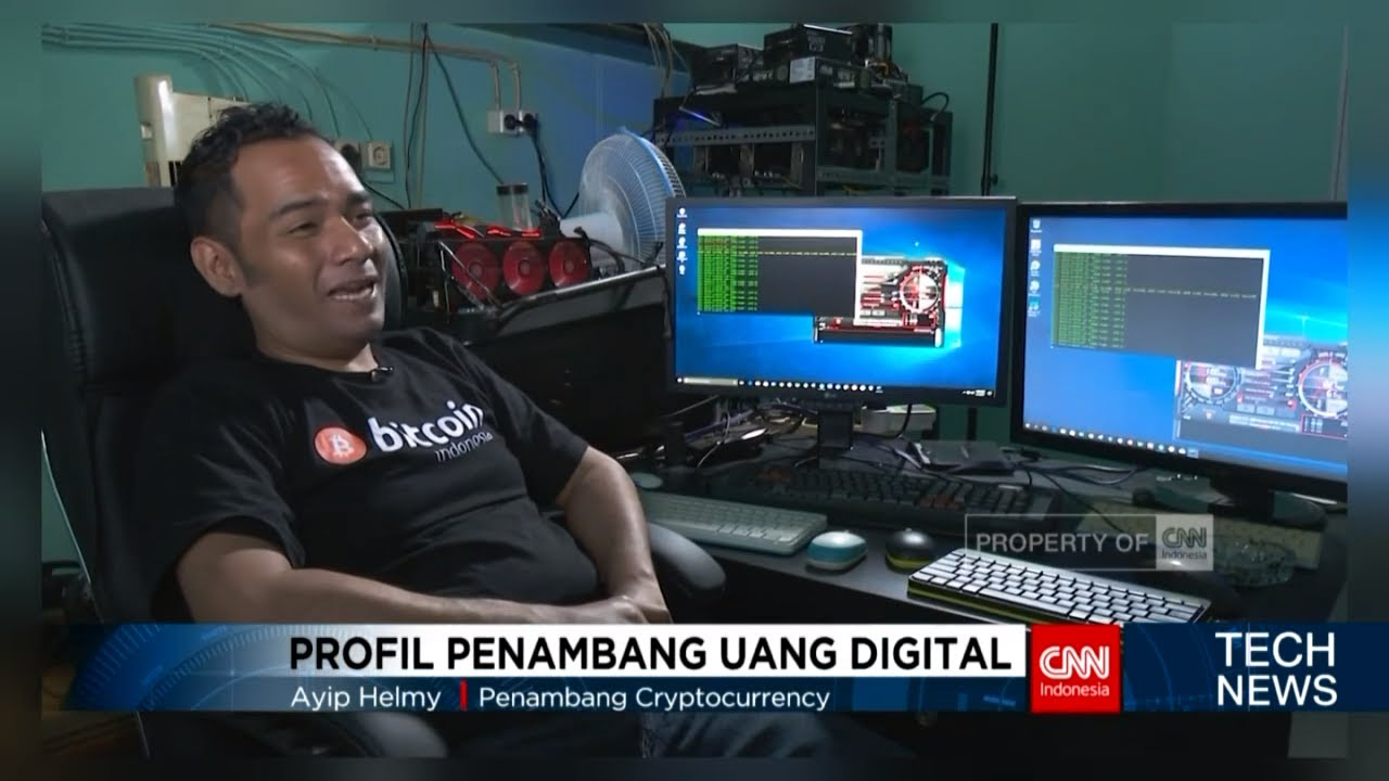 Profil Para Penambang Uang Digital atau Bitcoin Hingga Rp 200 Juta /minggu