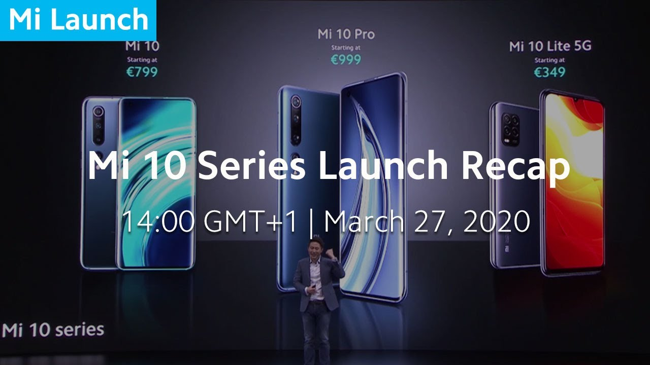 Xiaomi New Product Launch 2020 Highlight
