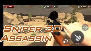 Sniper 3D Assassin   Trò chơi bắn súng screenshot 4