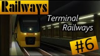 I just manage to keep driving by xD | Roblox Train Simulator