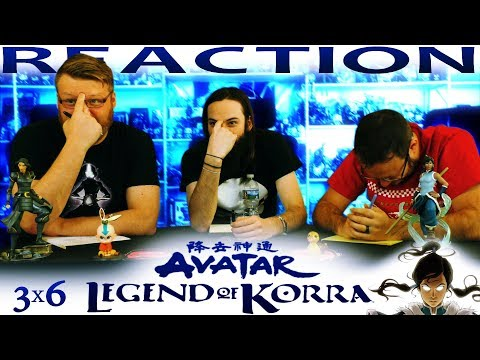 "Legend of Korra 3x6 REACTION!! ""Old Wounds"""