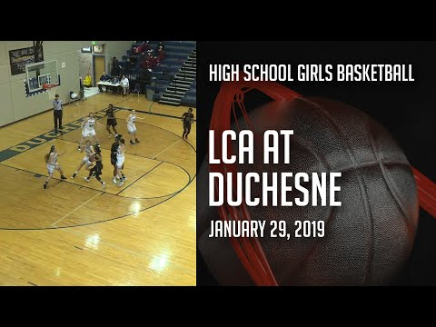 18-19 Girls Basketball - Layton Christian Academy at Duchesne