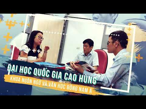 VIDEO QUẢNG BÁ TUYỂN SINH NĂM 2020 KHOA VIỆT NAM HỌC, TRƯỜNG ĐẠI HỌC NGOẠI NGỮ, ĐẠI HỌC HUẾ
