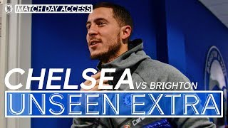 Brighton 0-4 Chelsea | Unseen Access | Willian Has Message For Fans