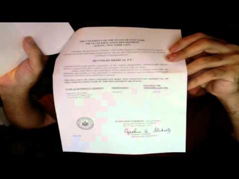 1 of 2 howard reynolds certificate of incorporation submission part one