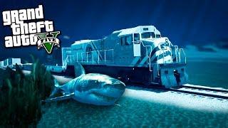 СМОЖЕТ ЛИ ПОЕЗД ЕХАТЬ ПОД ВОДОЙ В GTA 5 - МИР ГТА 5 МОДОВ  - ГТА 5 МИФЫ(Сможет ли поезд водой в GTA5? У нас мир гта 5 модов, и сегодня проверим сможет ли поезд ехать под водой в GTA 5...., 2016-11-06T13:32:18.000Z)