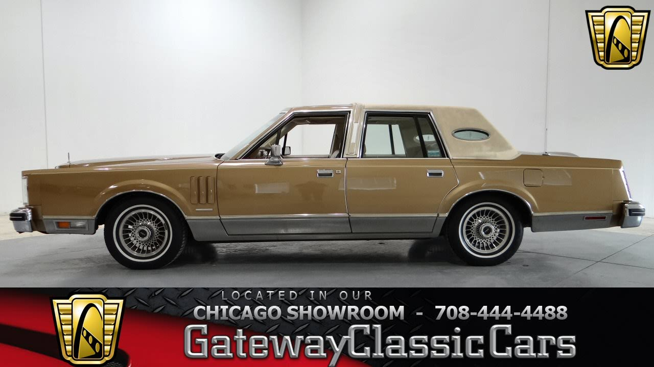 1982 Lincoln Continental Mark Vi Gateway Classic Cars