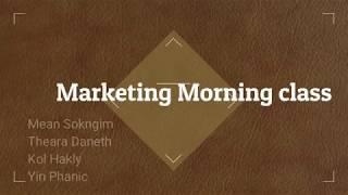 Hospitality marketing roleplay