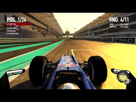 F1 2010 Rennen 19 Grand Prix von Abu Dhabi\Abu Dhabi (No driving aids)