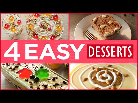 4 Easy Eid Dessert Recipes By Food Fusion (Eid Special Recipes)