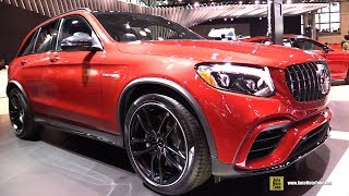 2018 Mercedes AMG GLC63 - Exterior and Interior Walkaround - 2018 New York Auto Show