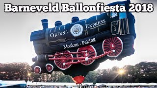 Barneveld Balloon Fiesta 2018 - The Orient Express Train - A static display balloon -