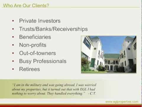 Egl Properties Inc Professional Property Management