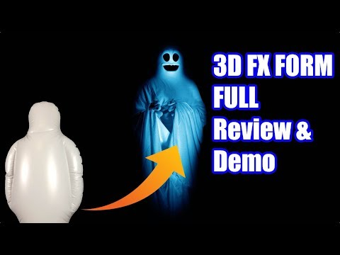 3DFX Form Full Review & Demo of Every AtmosFX Effect for the Prop!