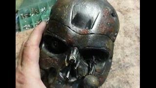Terminator T-700 head paint