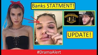 Alissa Violet ATTACKED! Update! #DramaAlert  FaZe Banks FULL Statement vs BAR!