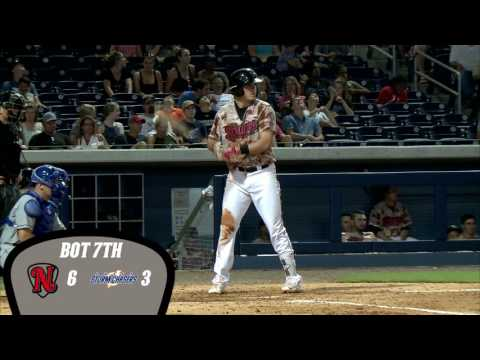 June 26, 2016 - Sounds Launch Three Homers in Win over Omaha