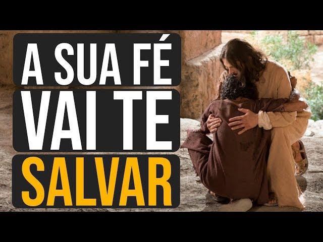 JESUS DISSE: VAI, A TUA FÉ TE SALVOU! (Motivação Nando Pinheiro)