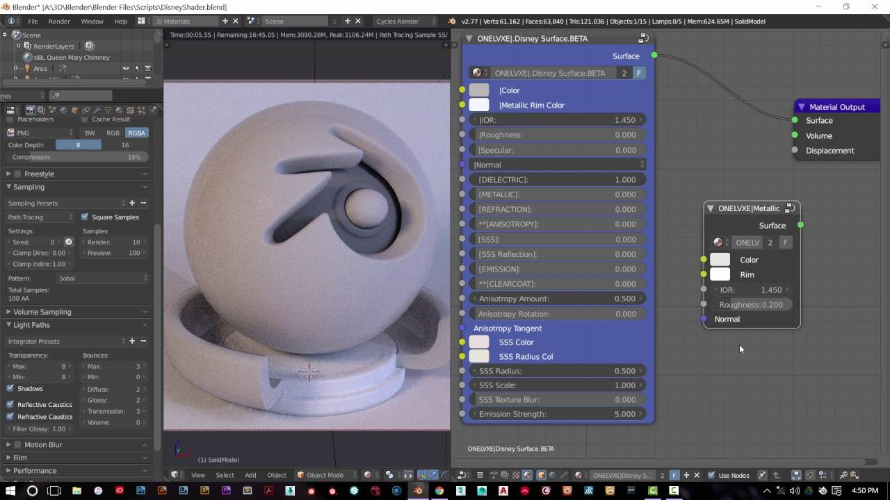 Disney Cycles Shader: Updated