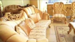 Almoda Mobilya El Oyması Işçiliği Klasik Koltuk Takımları ,classical Sofas And Dining Room