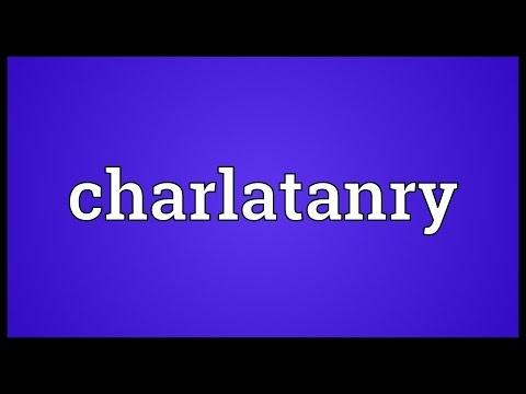 Header of charlatanry