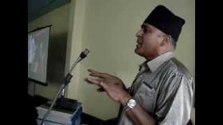Dr. Ram Upreti speaks ....Desh Prem........Sadai Bhari.