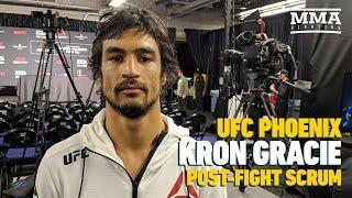 UFC Phoenix: Kron Gracie Says It's 'Cool' That Conor McGregor 'Respects' Gracie Family
